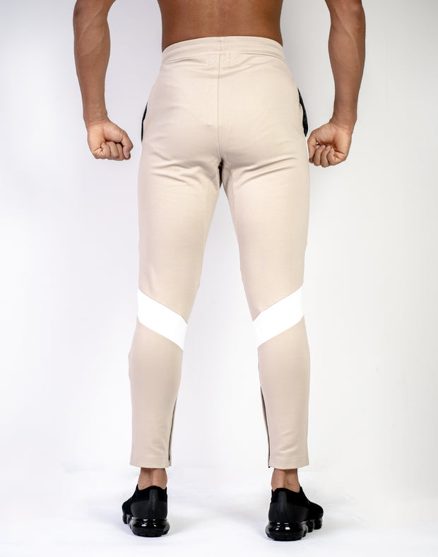 CRNS Knee logo Pants  BEIGE