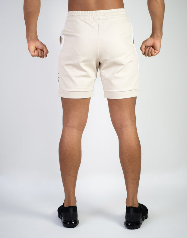 CRNS NEW TRACK SHORTS BEIGE