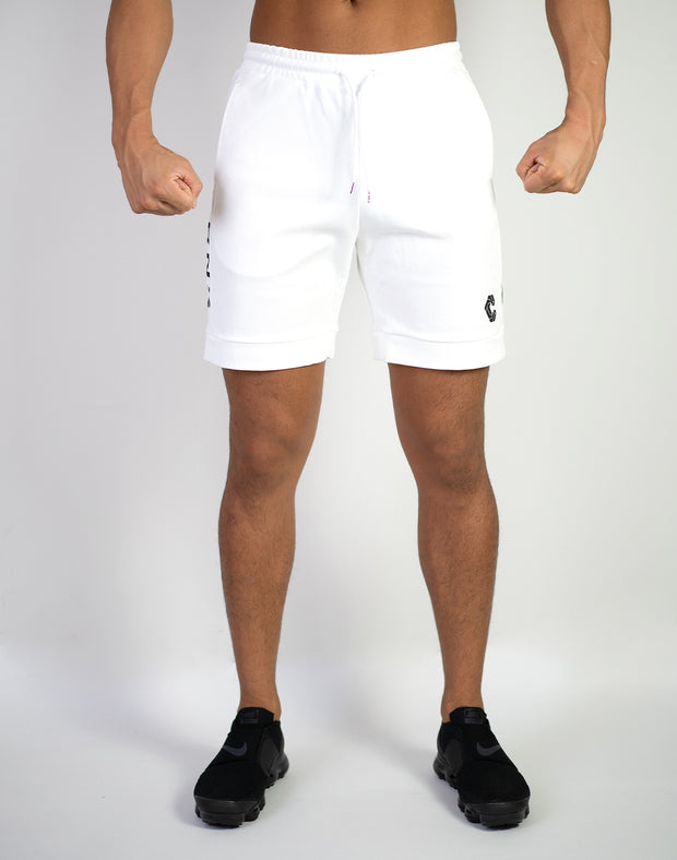 CRNS NEW TRACK SHORTS WHITE
