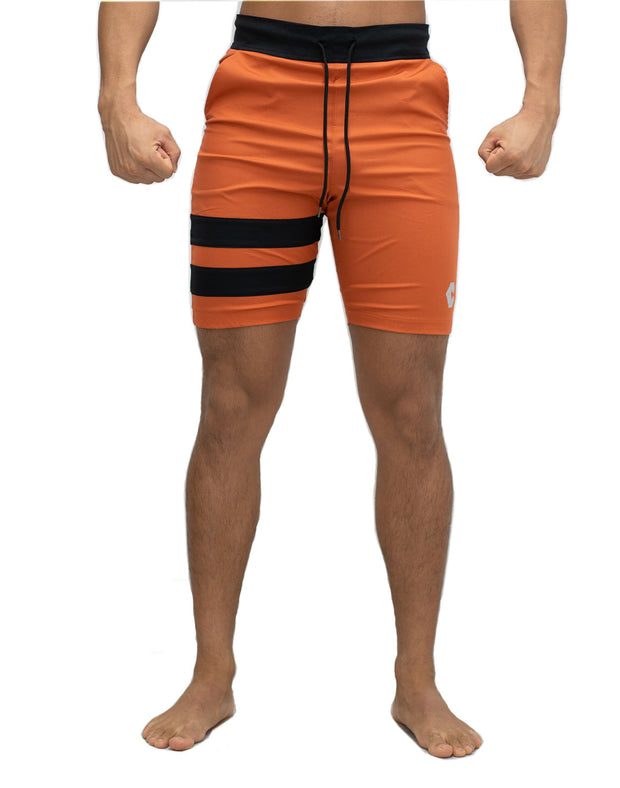 CRONOS TIGHT BOARD SHORTS RED