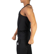 CRONOS BACK LOG TANK TOP BLACK