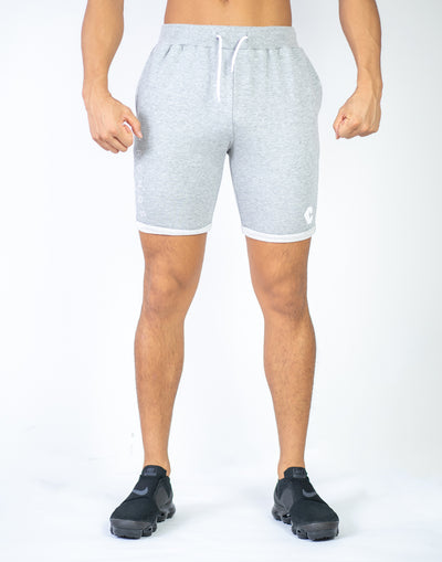 CRONOS PILE FABRIC SHORTS GRAY