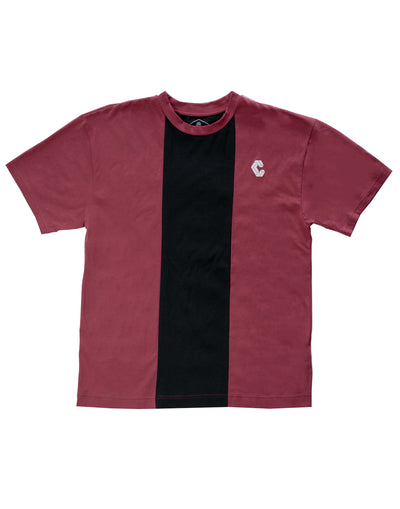 CRONOS CENTER LINE  T-SHIRT RED