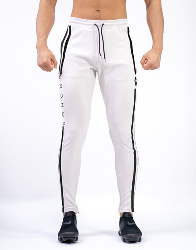 CRONOS NEW MODE 2STRIPE PANTS WHITE