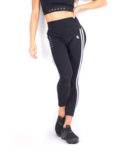 CRONOS MODE 2STRIPE LEGGINS BLACK