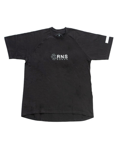CRNS HEM ROUNDNESS T-SHIRTS BLACK