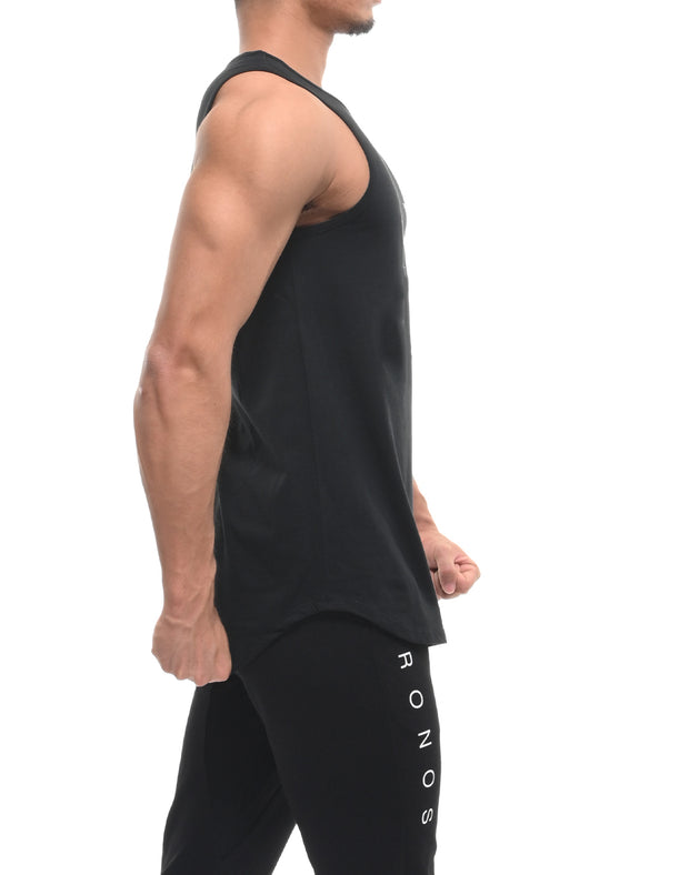 CRONOS NEW LOGO TANK TOP BLACK