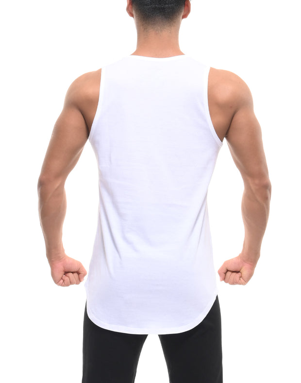 CRONOS NEW LOGO TANK TOP WHITE