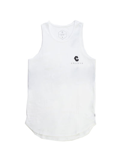 CRNS BACK BIG LOGO TANK TOP WHITE