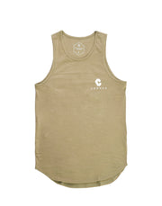 CRNS BACK BIG LOGO TANK TOP GREEN