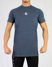 CRONOS LOGO FIT T-SHIRTS NAVY