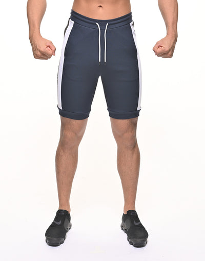 CRONOS BORDER COLOR SHORTS NAVY