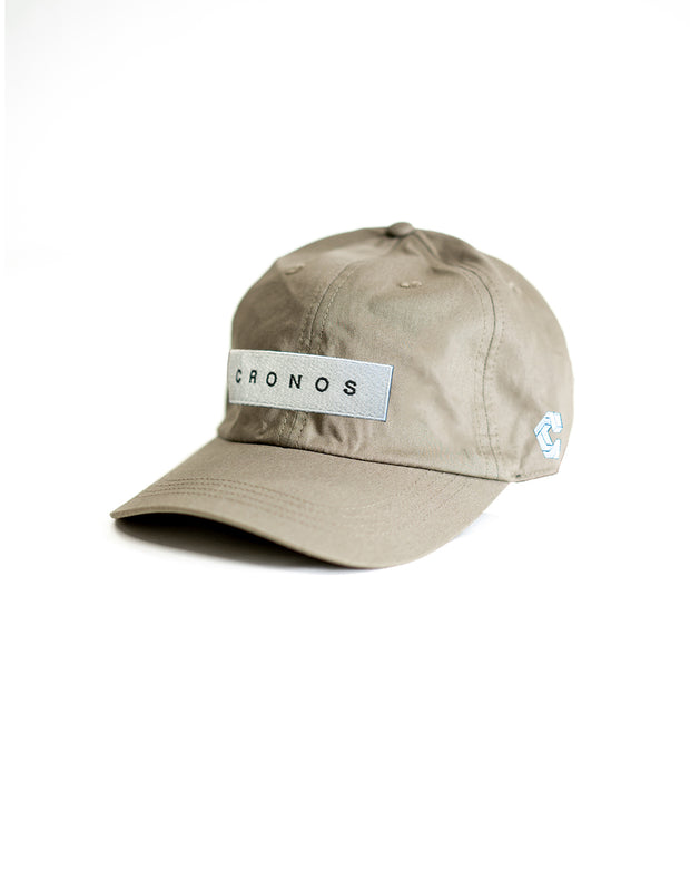 CRONOS BOX LOGO CAP GRAY