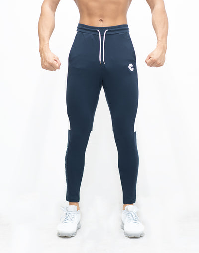 CRONOS SIDE HALF LINE PANTS NAVY