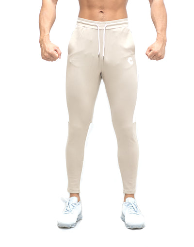 CRONOS SIDE HALF LINE PANTS BEIGE