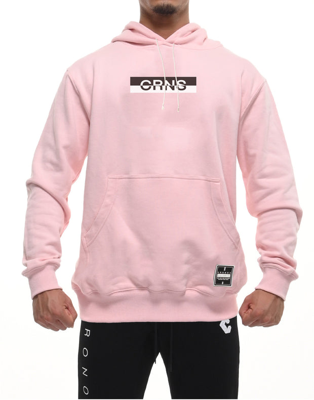 CRNS BOX LOGO PULL OVER PARKA PINK