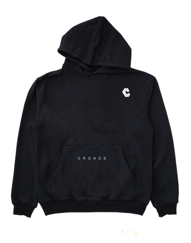 CRONOS PULL OVER PARKA BLACK