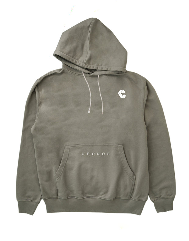 CRONOS PULL OVER PARKA GRAY