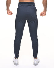 CRONOS THICK LINE LOGO PANTS NAVY