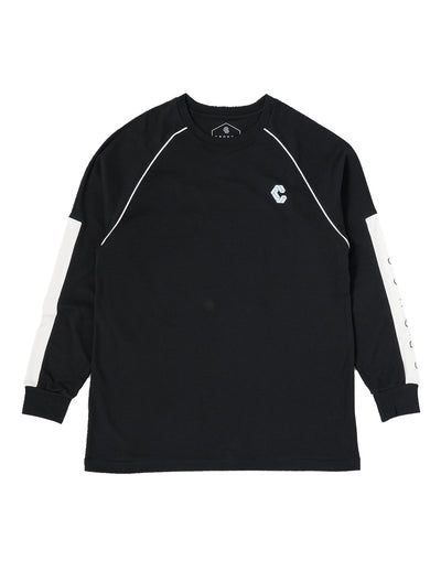 CRONOS ARM LOGO LONG SLEEVE BLACK