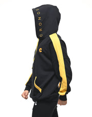 CRONOS ARM LINE HOODY SP.BLACK
