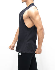 CRONOS LOCATION LOGO TANK TOP BLACKのコピー