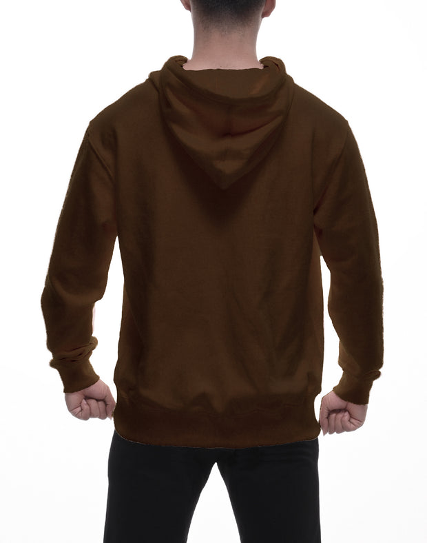 CRONOS LOCATION LOGO HOODY  BROWN