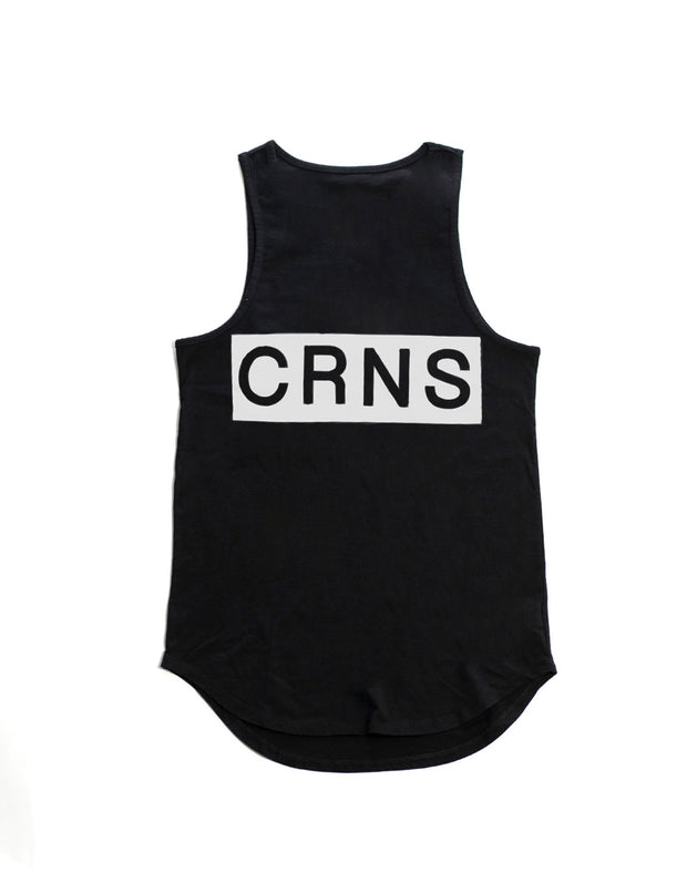 CRONOS NEW  BACK BIG LOGO TANK TOP【BLACK】
