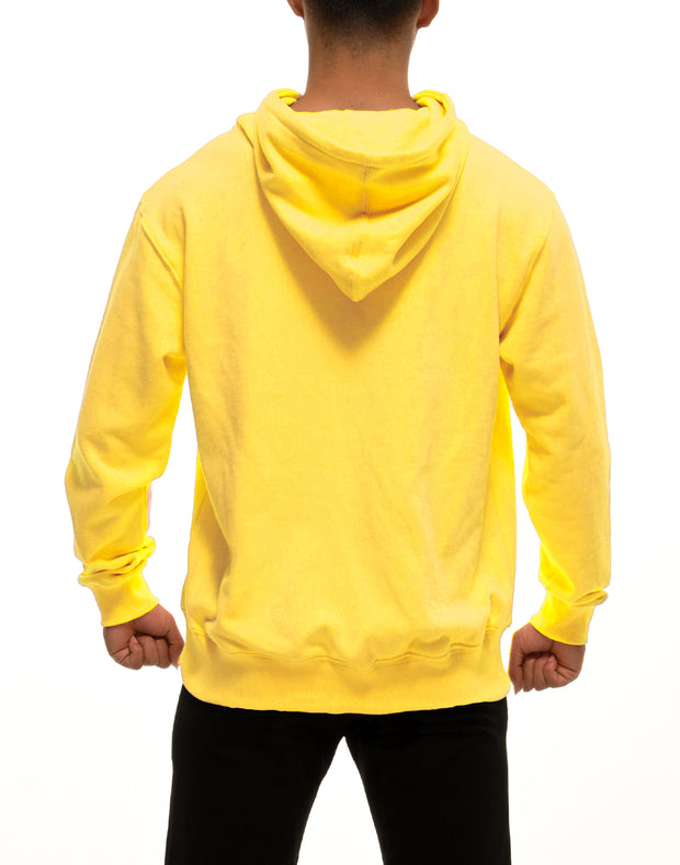 CRONOS DUMBBELL LOGO HOODY【YELLOW】