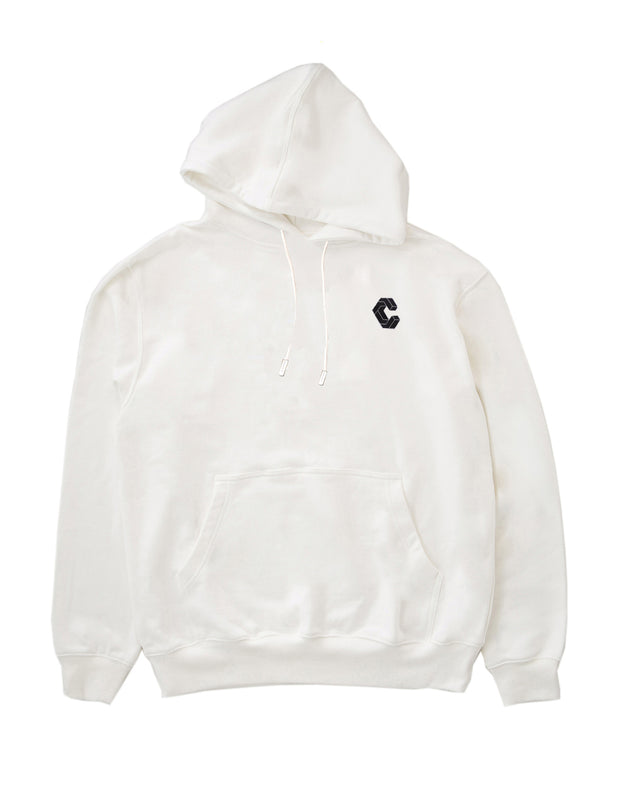 CRNS  BACK BIG LOGO HOODY【WHITE】