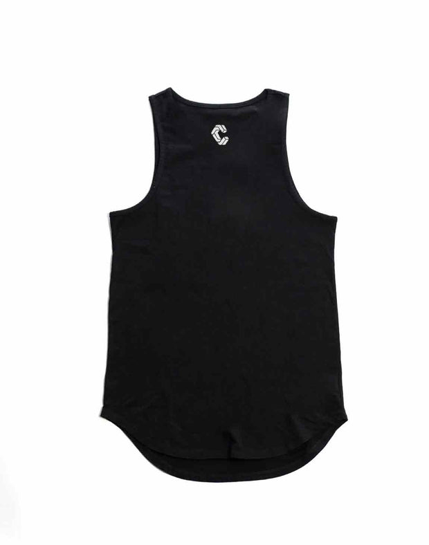 CRONOS NEW BOX LOGO TANKTOP【BLACK】