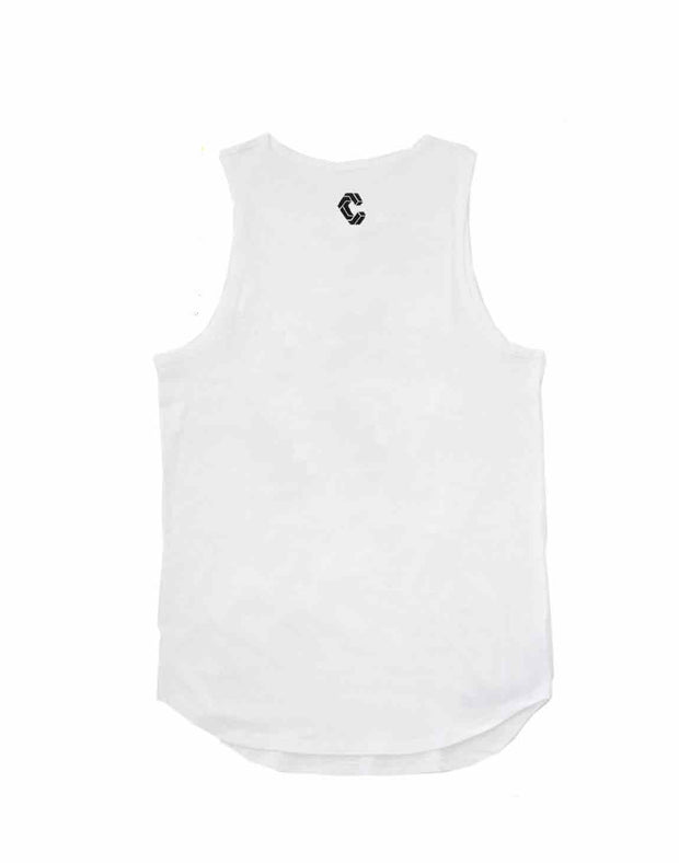 CRONOS NEW BOX LOGO TANKTOP【WHITE】