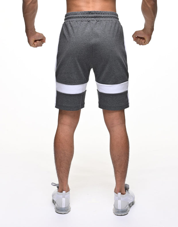 CRNS THICK LINE SHORTS【GRAY】