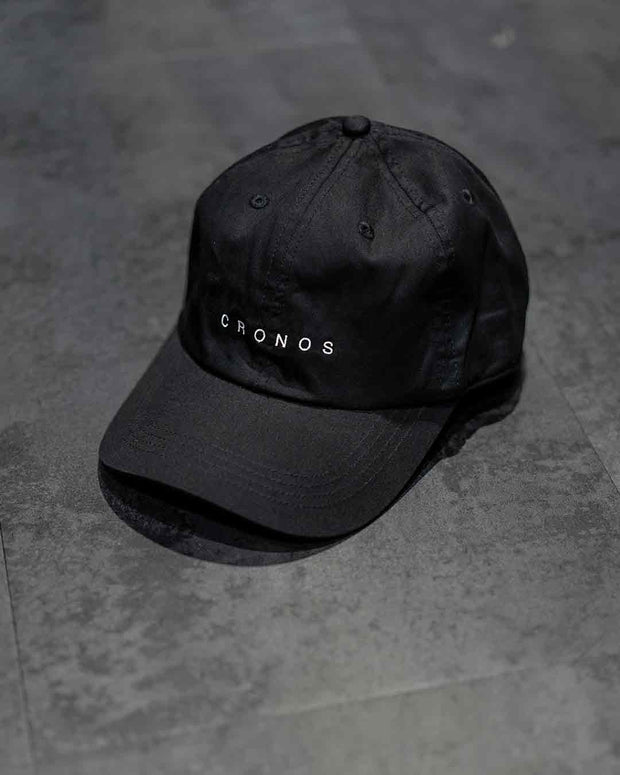 CRONOS NEW LOGO CAP【BLACK】
