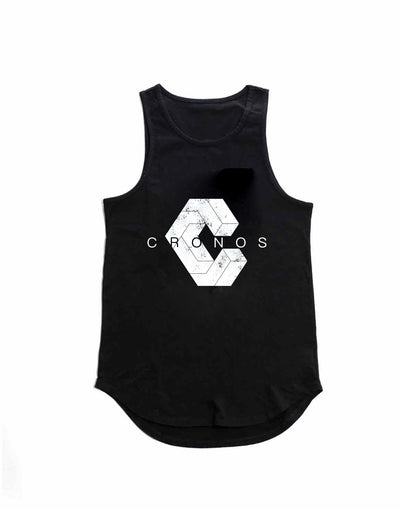 CRONOS NEW LOGO TANK TOP 【BLACK】