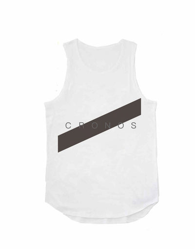 CRONOS FRONT LINE TANK TOP【WHITE】