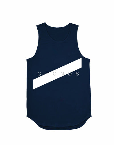 CRONOS FRONT LINE TANK TOP【NAVY】