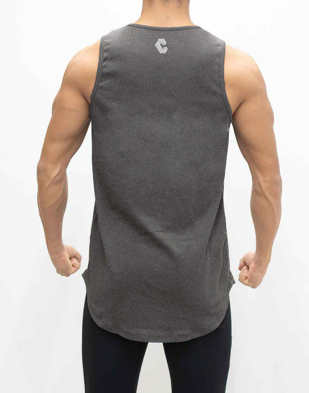 CRONOS NEW BOX LOGO TANK TOP GRAY