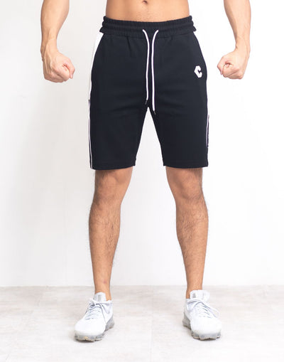 CRONOS SIDE LINE LOGO SHORTS BLACK