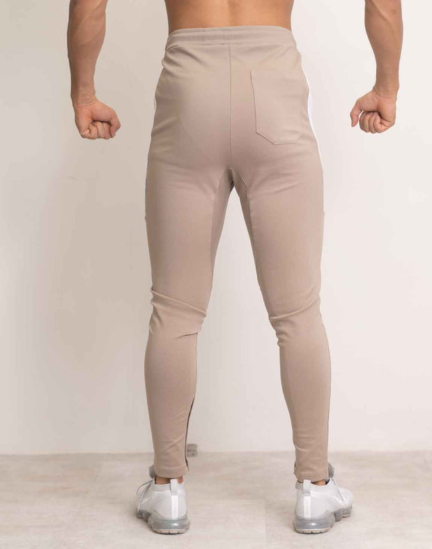 CRONOS SIDE BIG LOGO PANTS BEIGE
