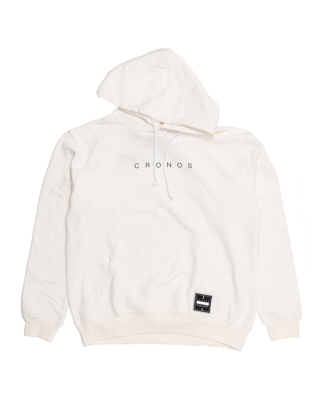 CRONOS NUMERALS PATCH PARKA WHITE