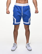 CRONOS BACK LOGO SHORTS【BLUE】