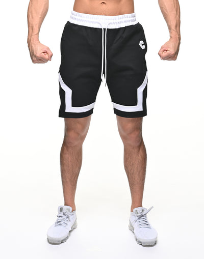 CRONOS BACK LOGO SHORTS【BLACK】