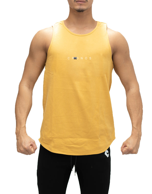 CRONOS STITCH TANK TOP【YELLOW】