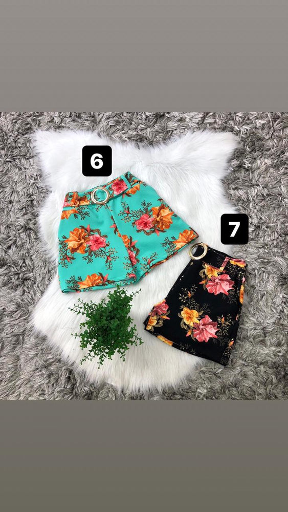 Short Estampa Floral 1311