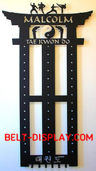 Order Online Taekwondo 13  Belt Display | Karate Belt Display | Martial Arts Belt Display