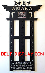Karate Belt Display | Top Online Store | 2020's Best selling Personalized Martial Arts Holder