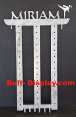 ATA Belt Display - Belt Holder - 13 Level Belt Display Tae Kwon Do belt rack
