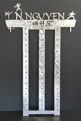 TKD Belt Rack