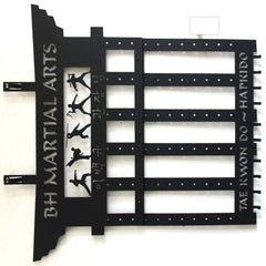 Martial Arts Belt  Display / Personalized sword display